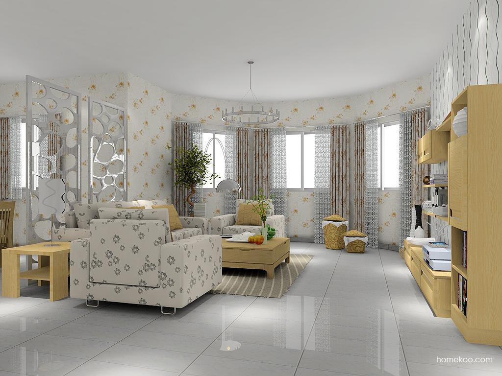 丹麦本色客厅家具D7503