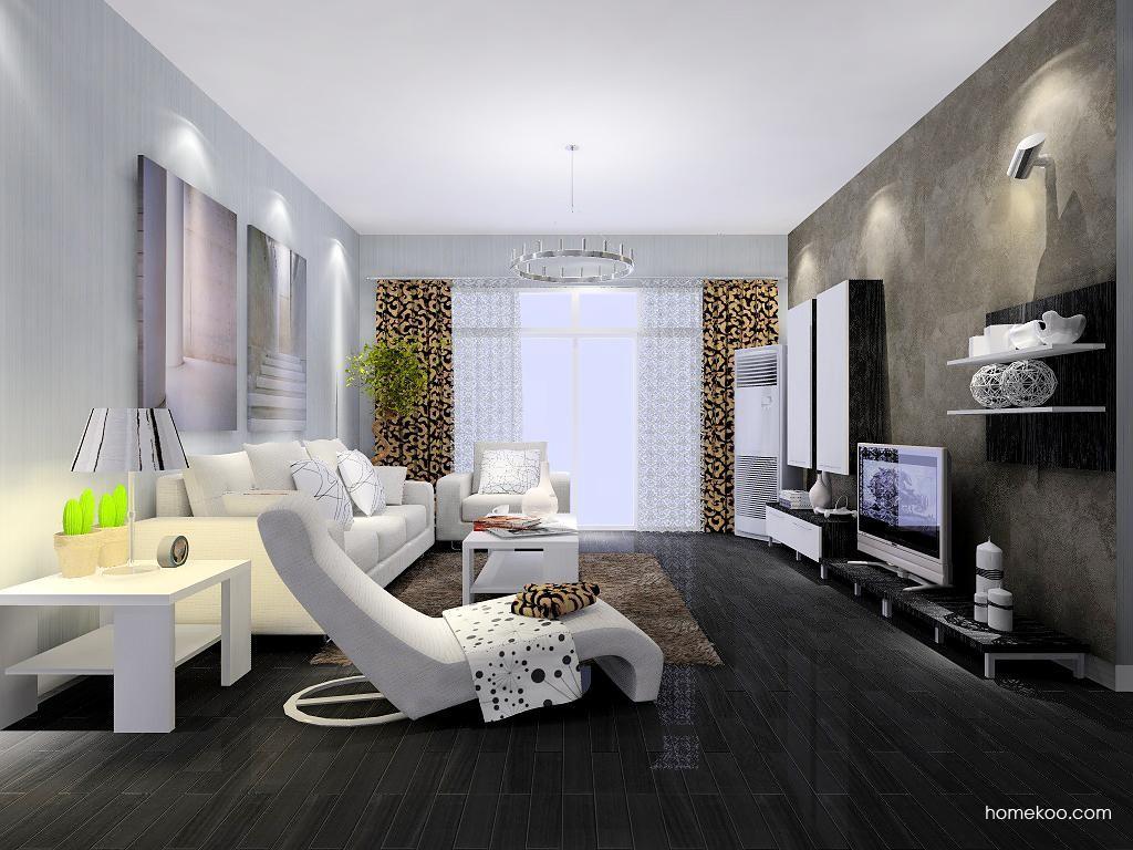 简约主义客厅家具D7488