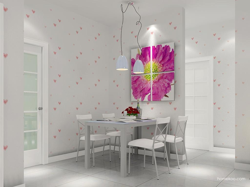 浪漫主义餐厅家具E4616