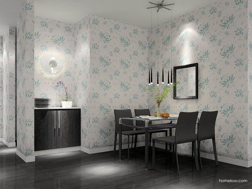 简约主义餐厅家具E4613
