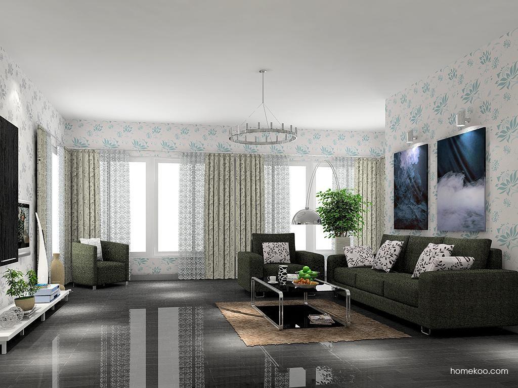 简约主义客厅家具D7521