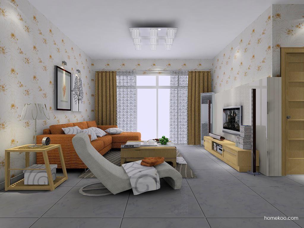 丹麦本色客厅家具D7504