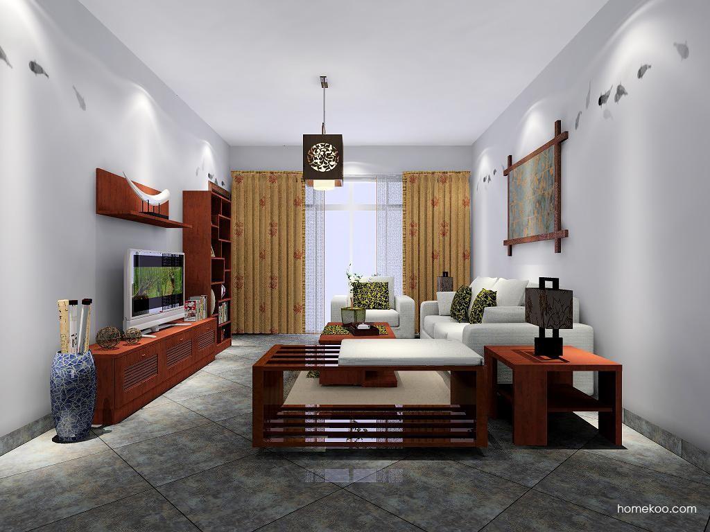 新中式主义客厅家具D7505