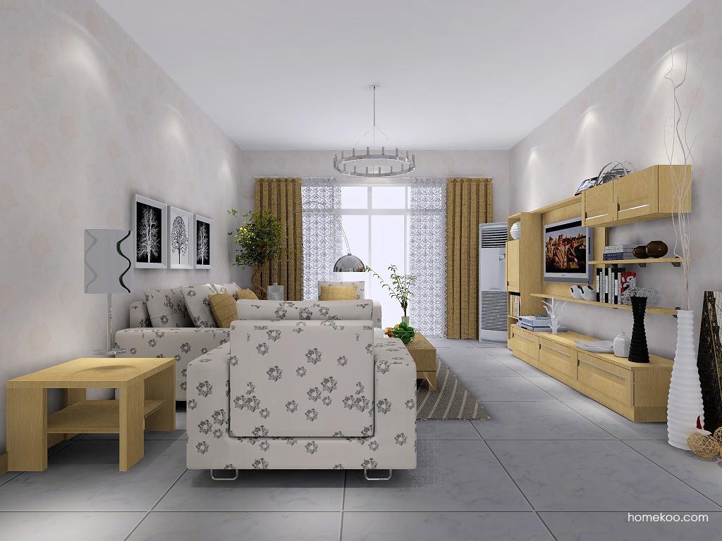丹麦本色客厅家具D7509