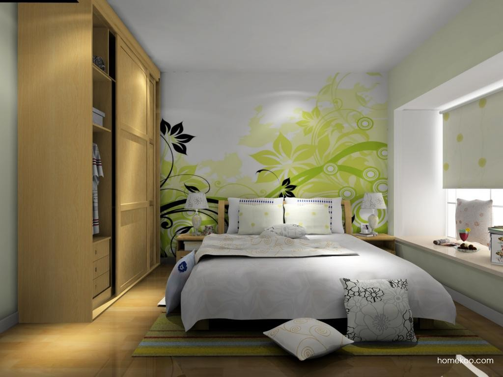 丹麦本色卧房家具A8072