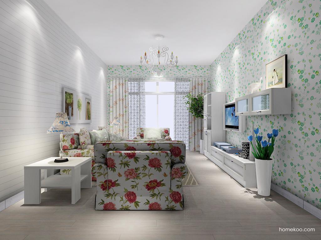韩式田园客厅家具D7533