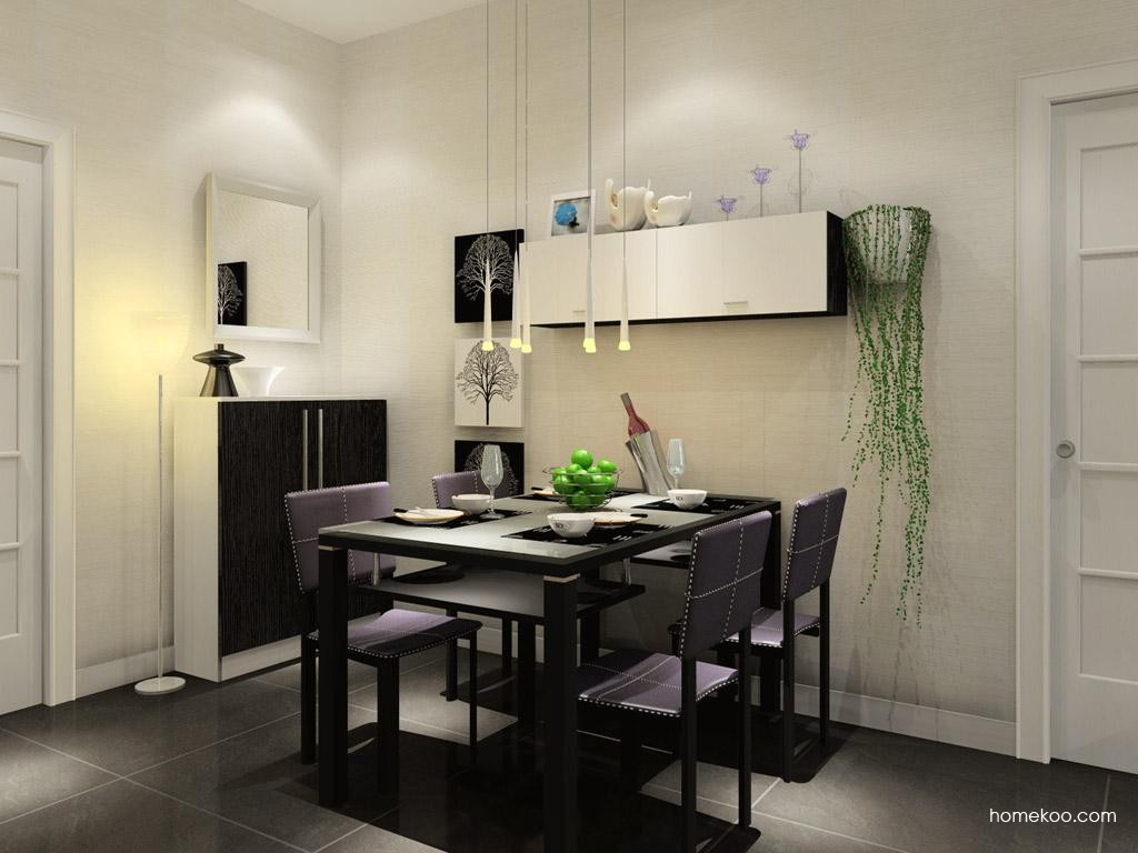 简约主义餐厅家具E7550