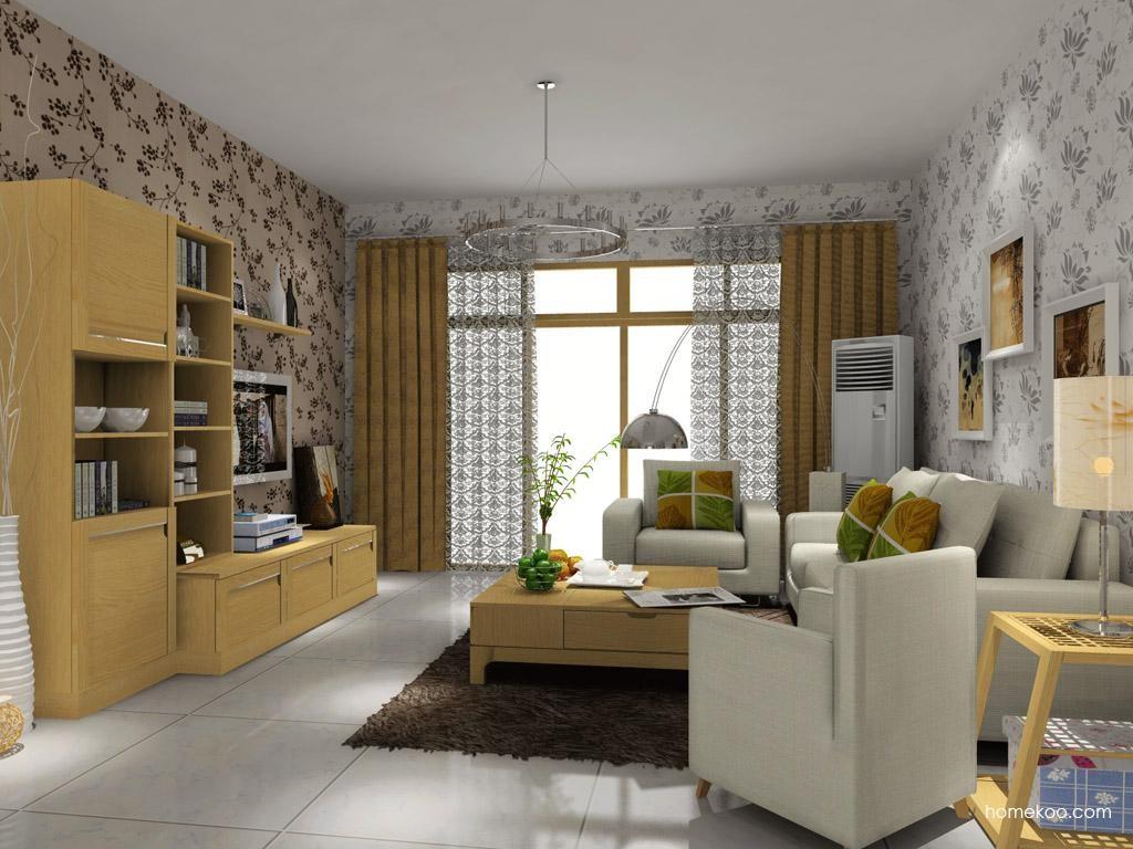 丹麦本色客厅家具D7567