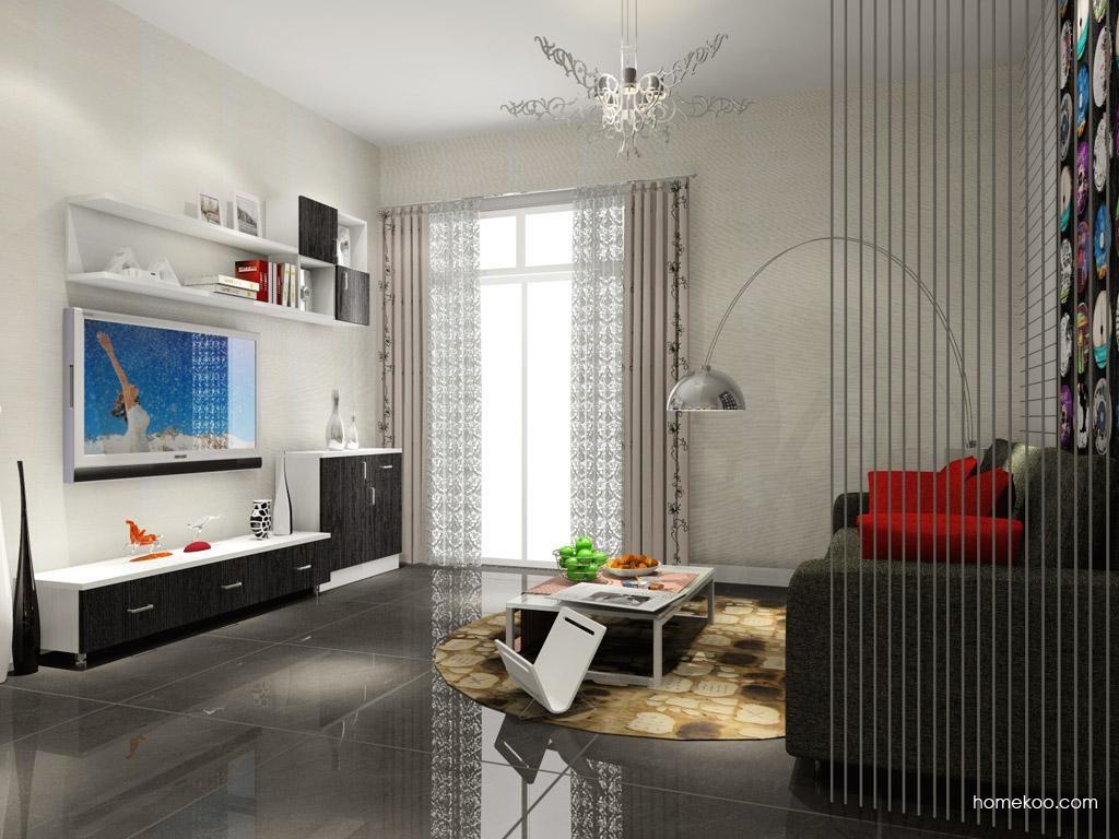 简约主义客厅家具D7584