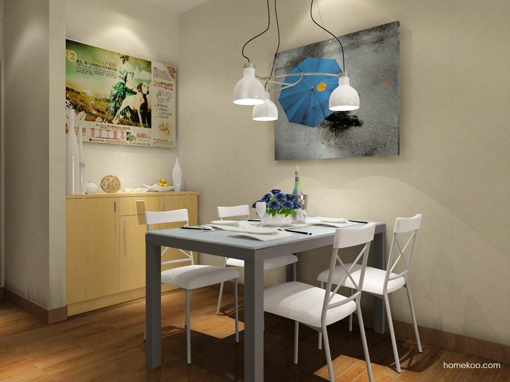 新实用主义餐厅家具E7579