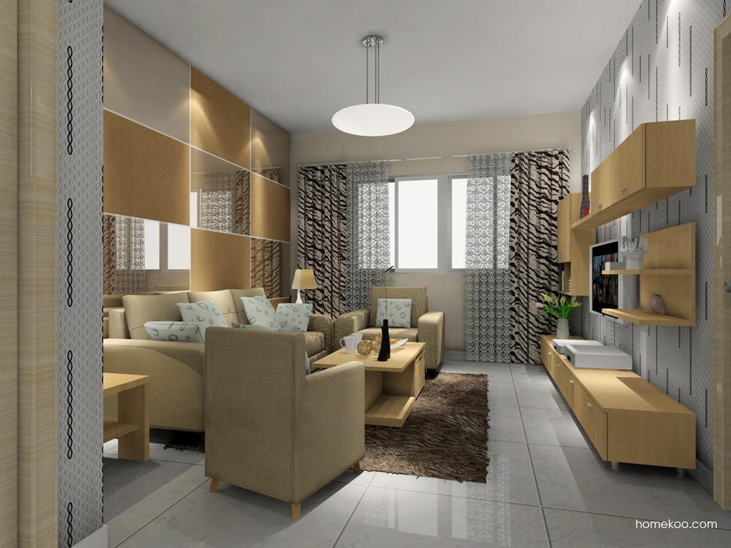 新实用主义客厅家具D7588