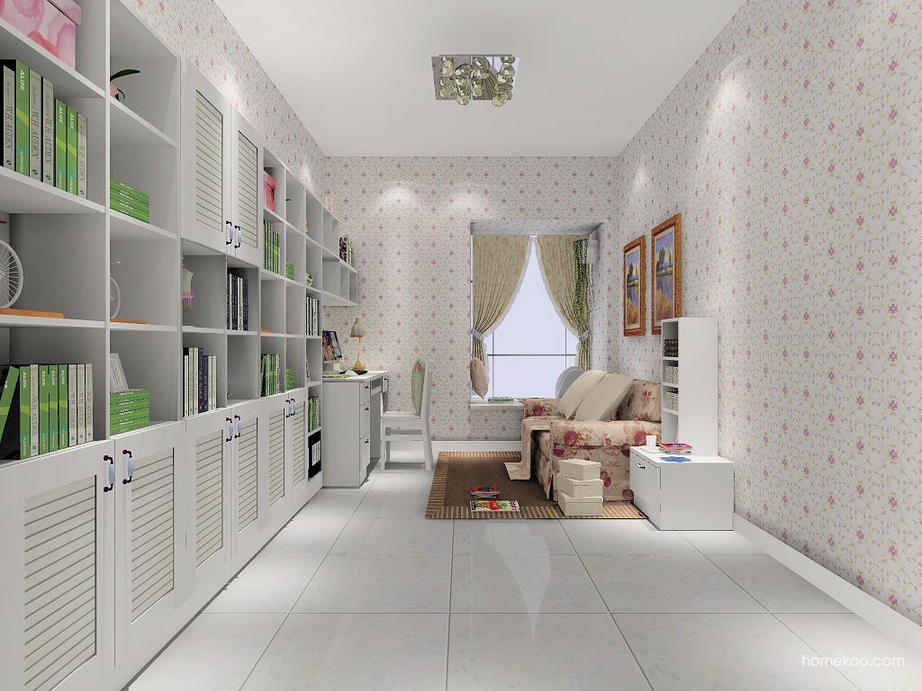 韩式田园书房家具C7910