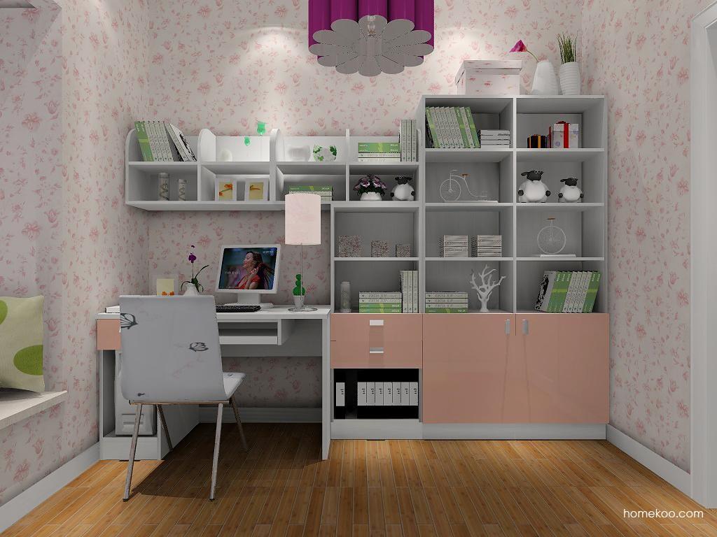 浪漫主义书房家具C7913