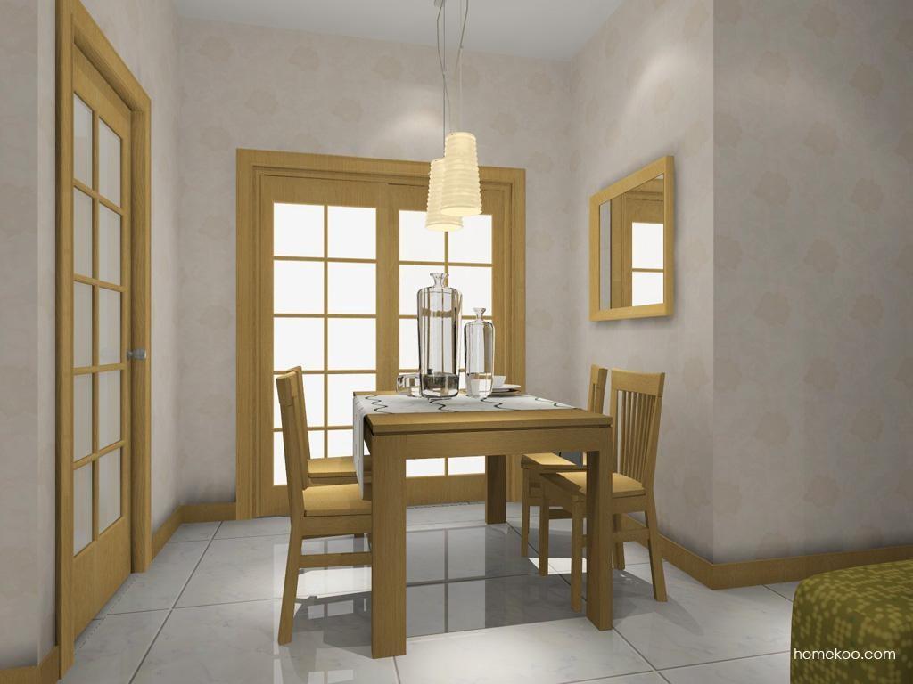 丹麦本色餐厅家具E7616