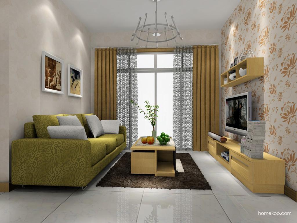 丹麦本色客厅家具D7618