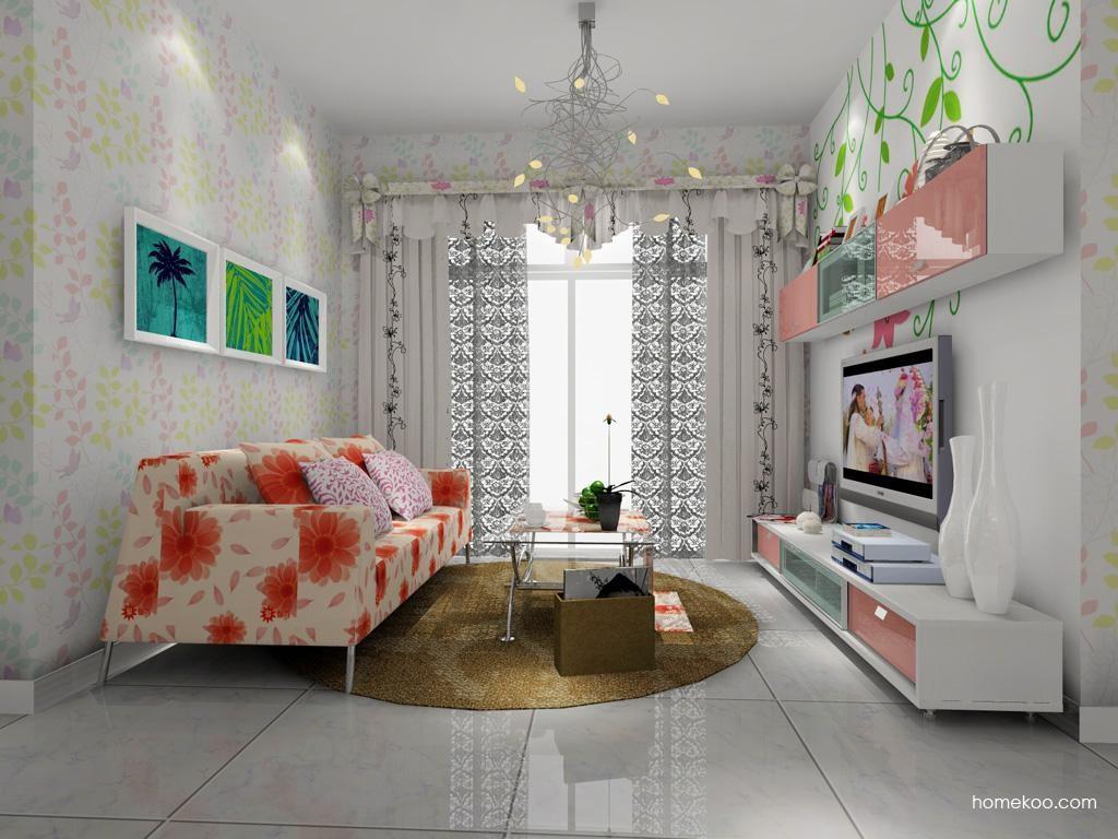 浪漫主义客厅家具D7617