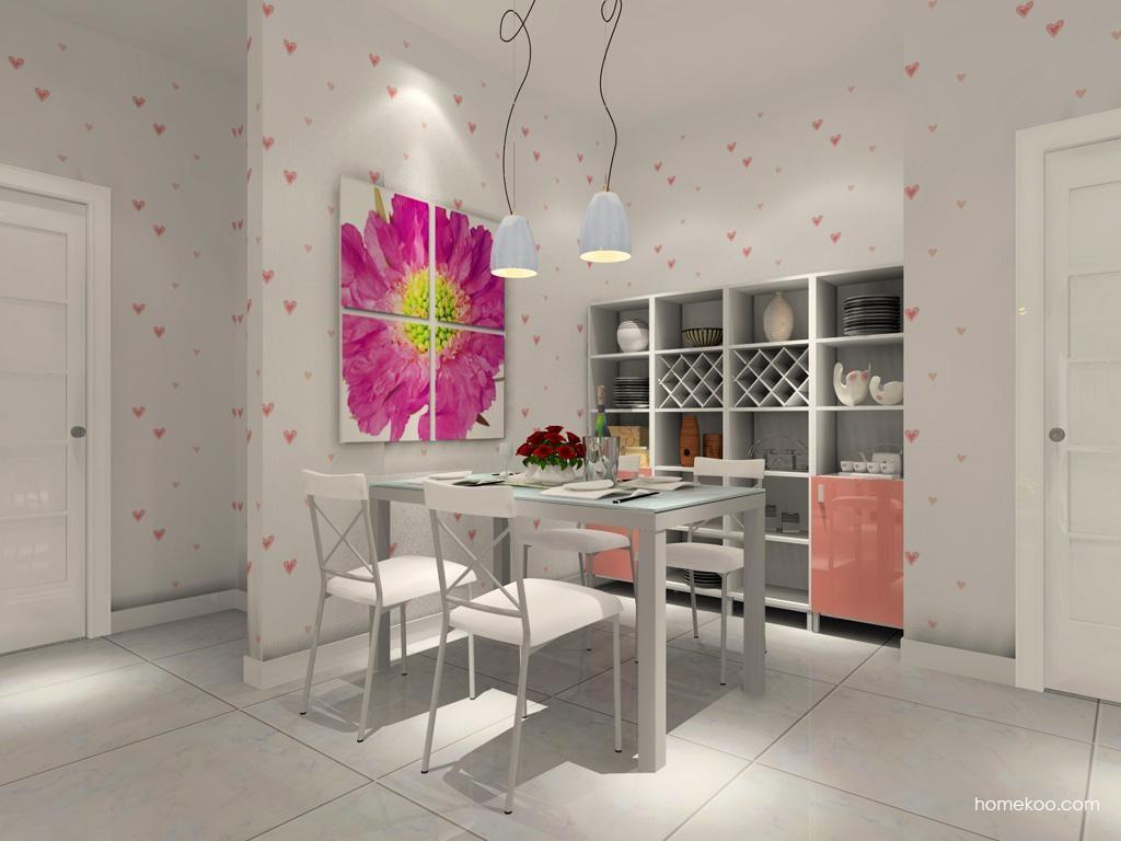 浪漫主义餐厅家具E7627