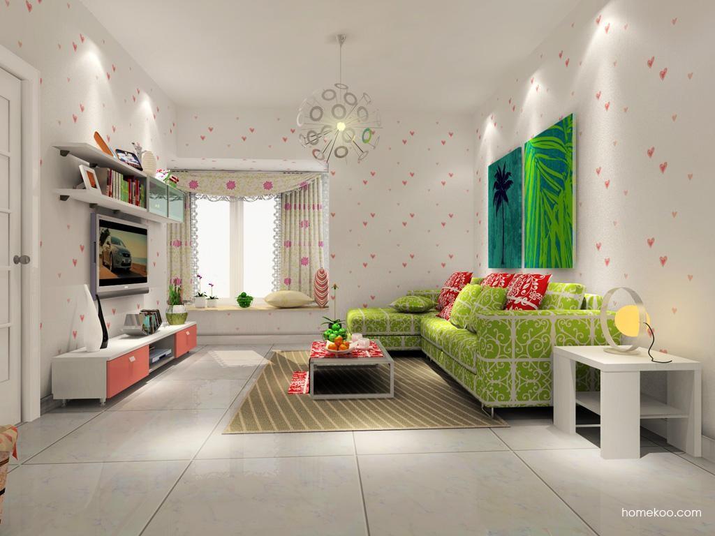 浪漫主义客厅家具D7629