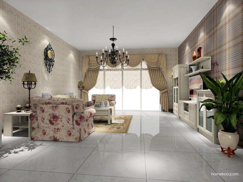 英伦印象客厅家具D7651