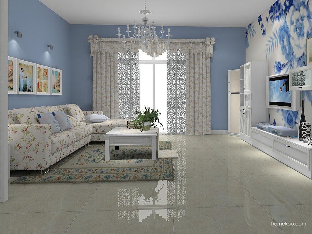 韩式田园客厅家具D7692