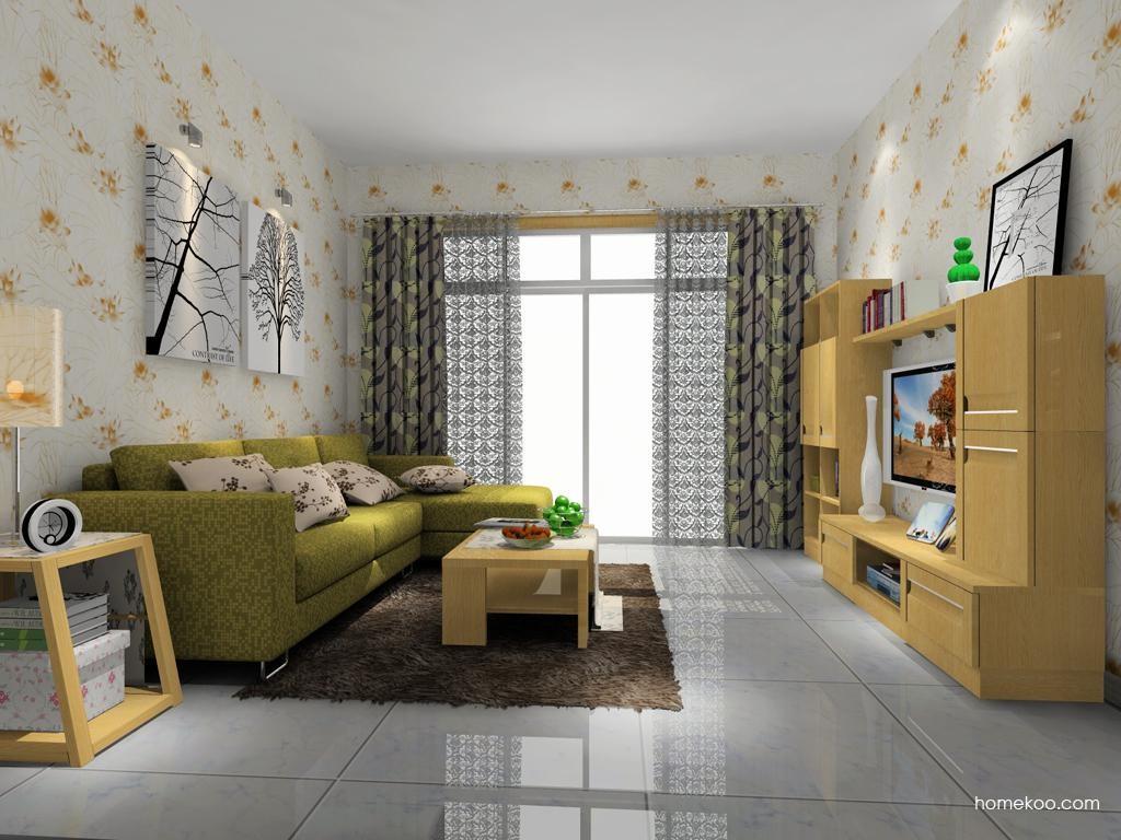 丹麦本色客厅家具D7685