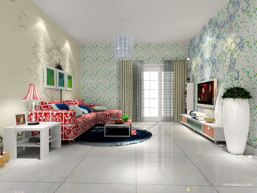 浪漫主义客厅家具D7704