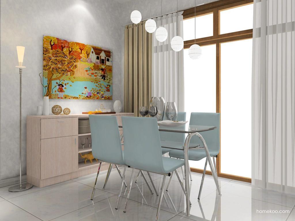 新实用主义餐厅家具E7716