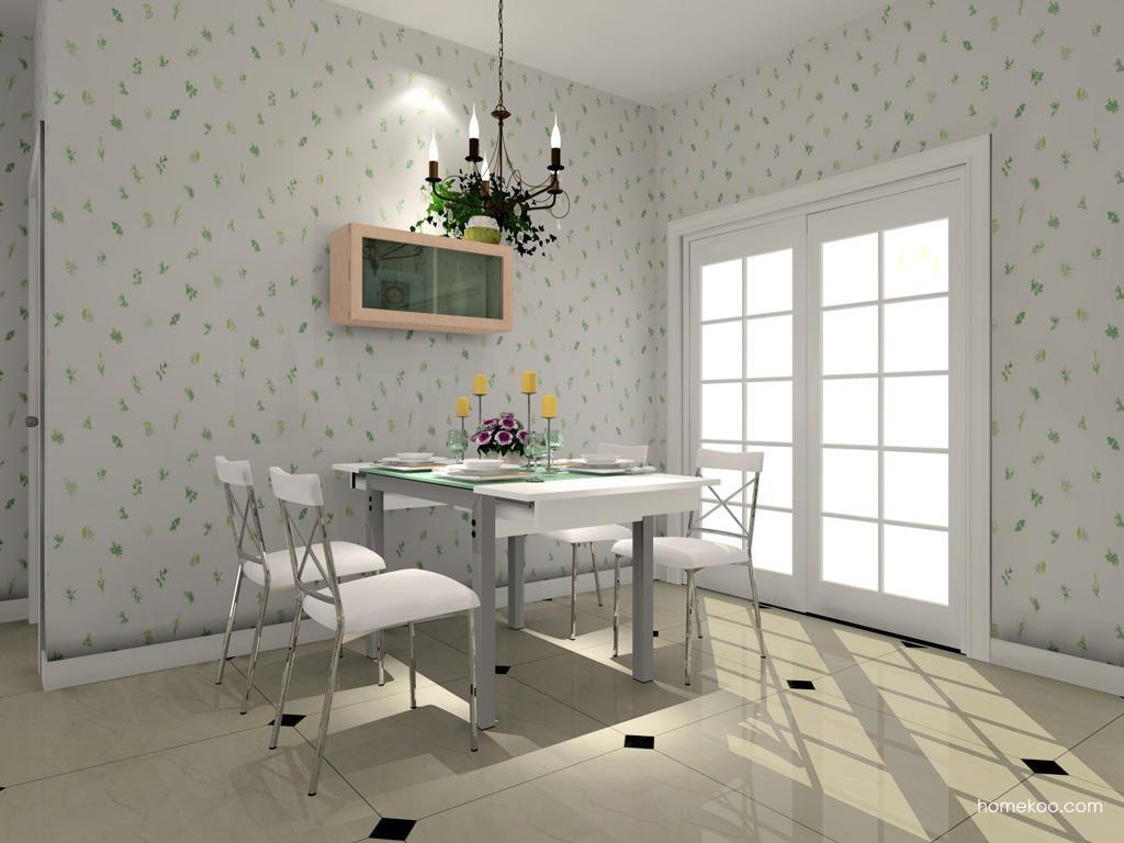 北欧阳光餐厅家具E7718