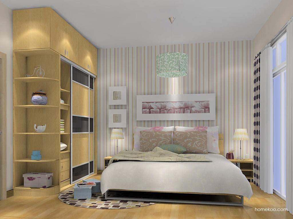 新实用主义卧房家具A8369