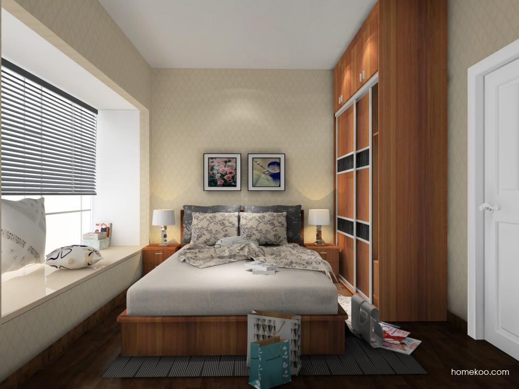 新实用主义卧房家具A8391