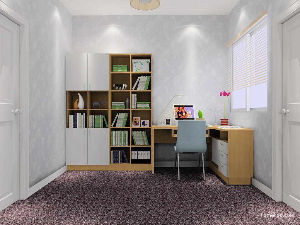 新实用主义书房家具C7951