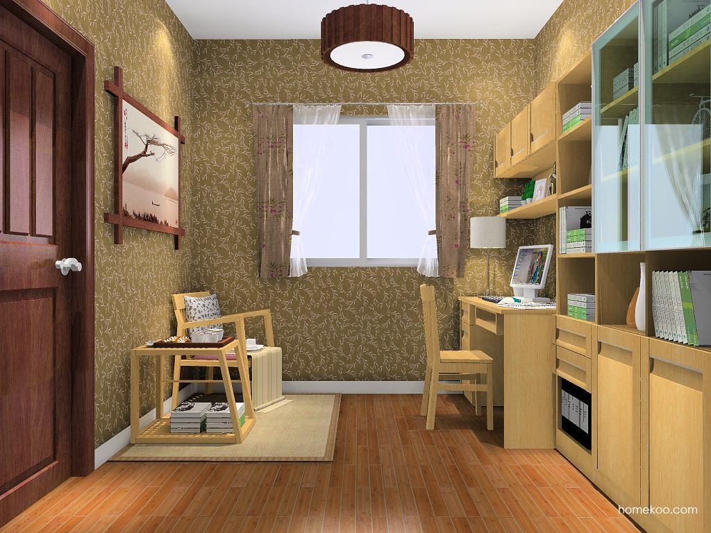 丹麦本色书房家具C7953