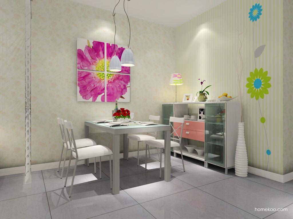 浪漫主义餐厅家具E7740