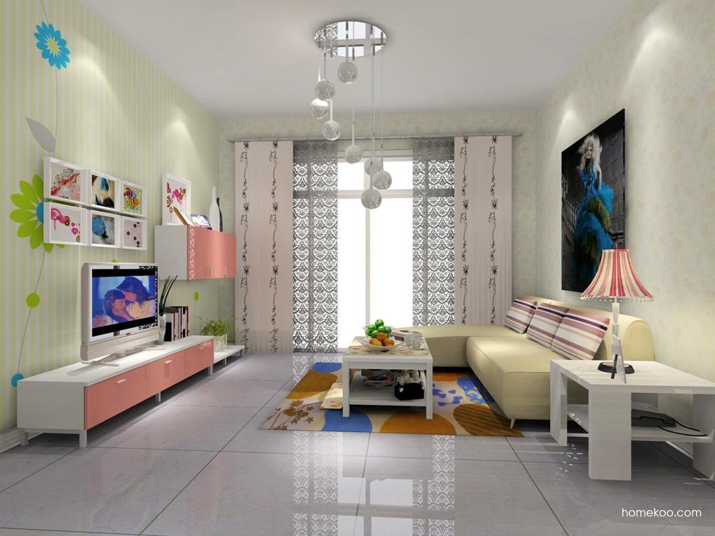 浪漫主义客厅家具D7739