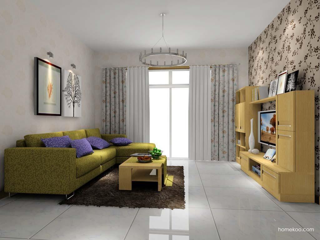 新实用主义客厅家具D7740