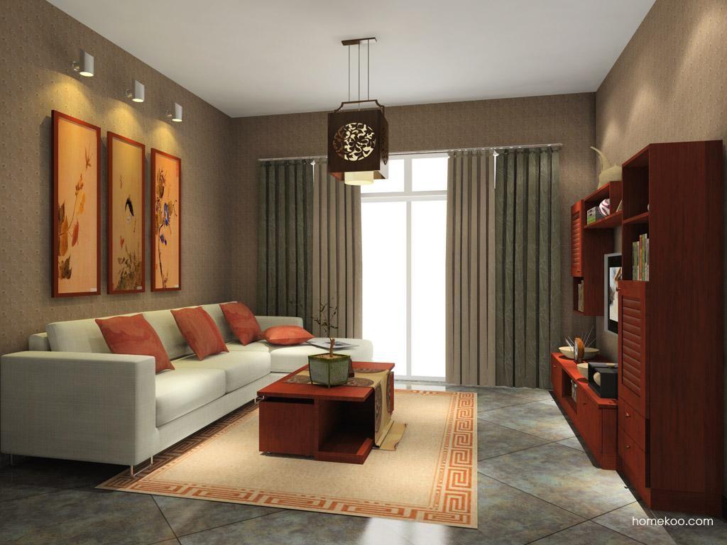 新中式主义客厅家具D7748