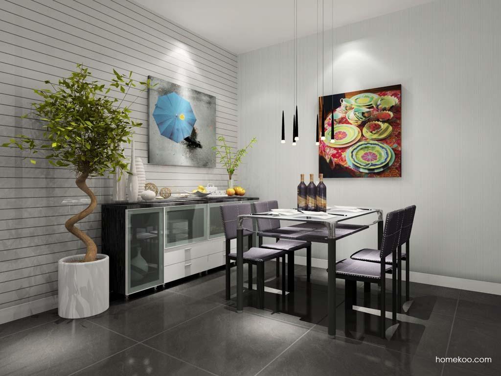 简约主义餐厅家具E7755