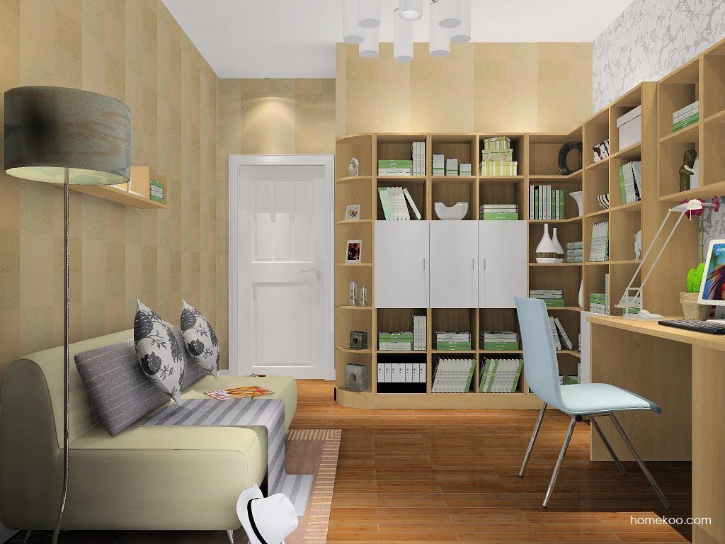 新实用主义书房家具C7986