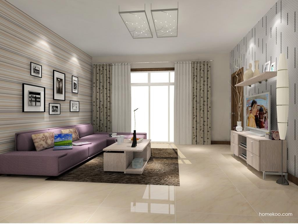 新实用主义客厅家具D7778