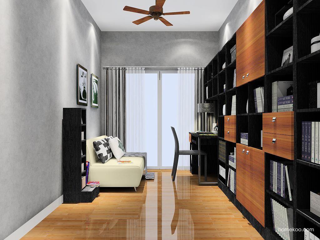 德国森林书房家具C8007