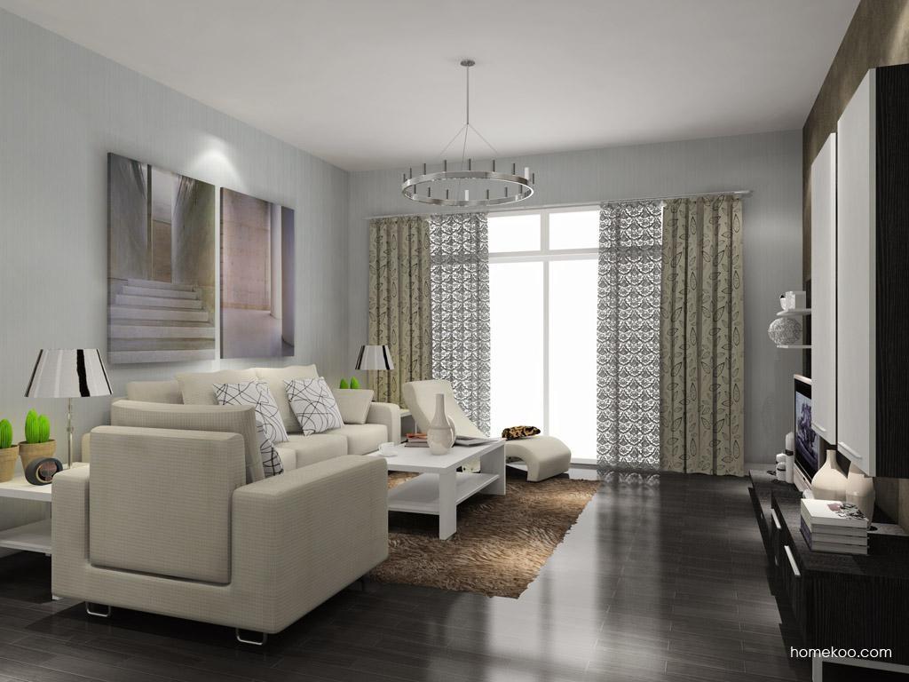 简约主义客厅家具D7787