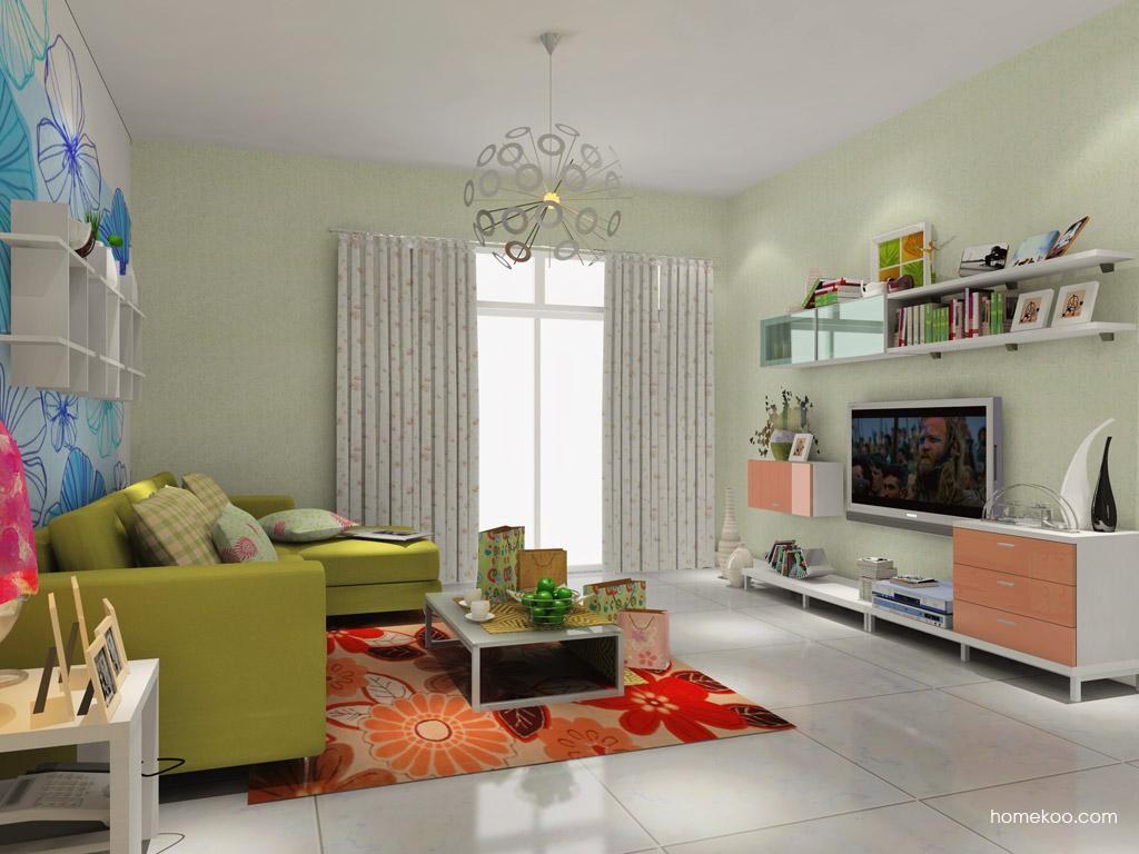浪漫主义客厅家具D7797