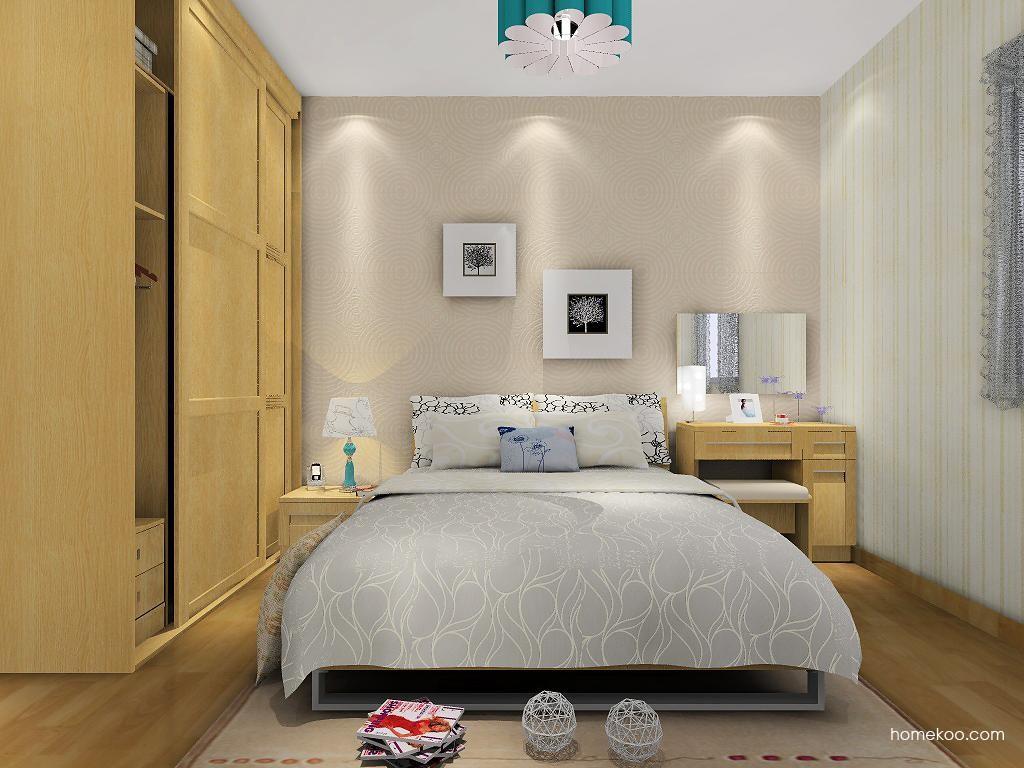 丹麦本色卧房家具A8425