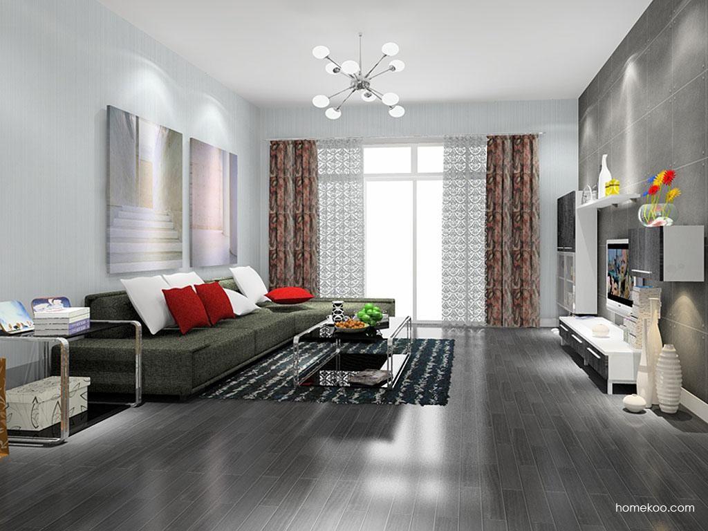 简约主义客厅家具D7809