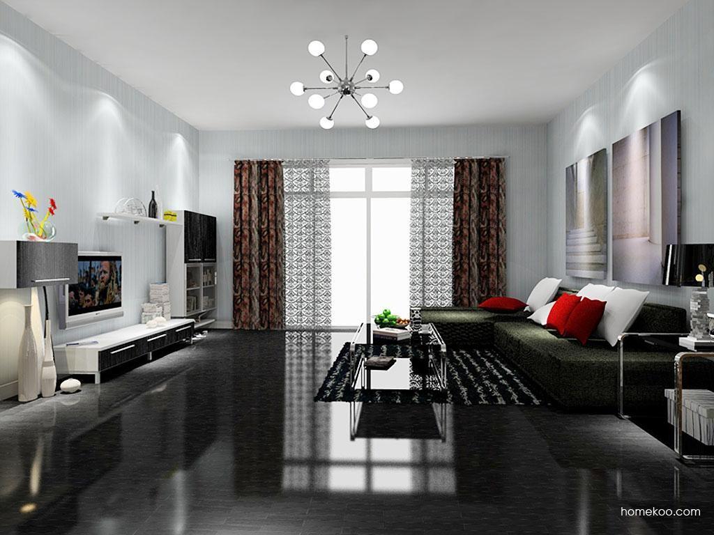 简约主义客厅家具D7839