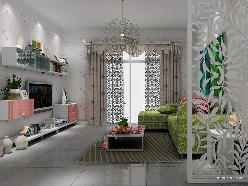 浪漫主义客厅家具D7838