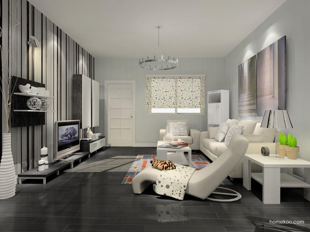 简约主义客厅家具D7861