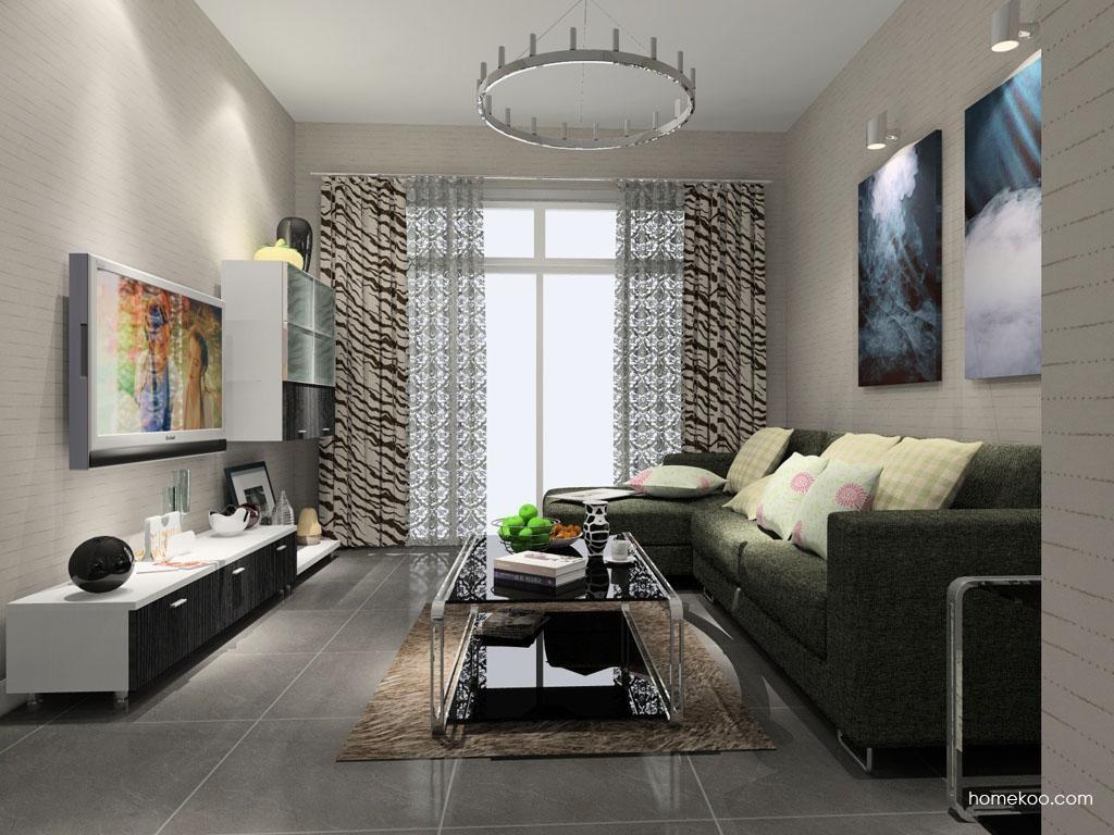 简约主义客厅家具D7870