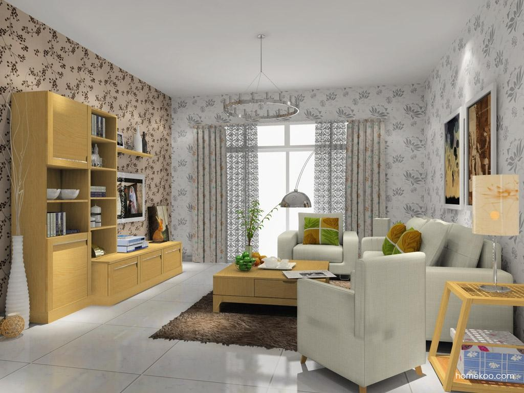 丹麦本色客厅家具D7883