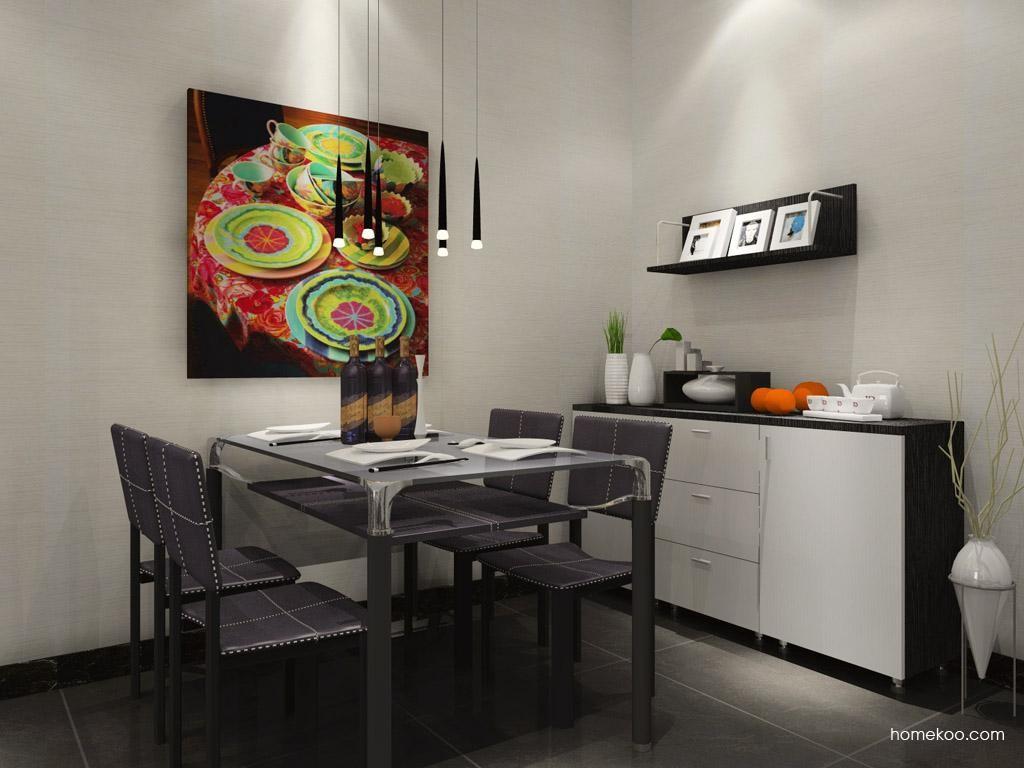 简约主义餐厅家具E7881